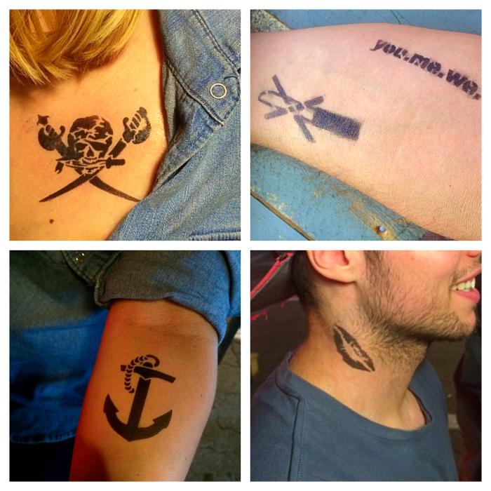 Eventoptimierer Airbrush Tattoos